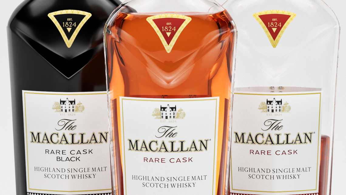 Macallan whiskey product shot